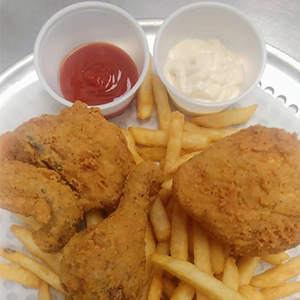 3pc Crispy Fried Chicken
