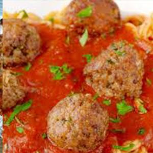 Lasagna Meatballs Pasta